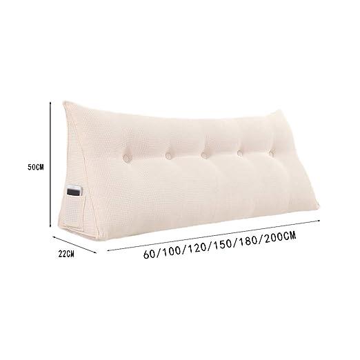 Amazon.com: CSQ Almohada doble cojines, almohada gruesa de ...