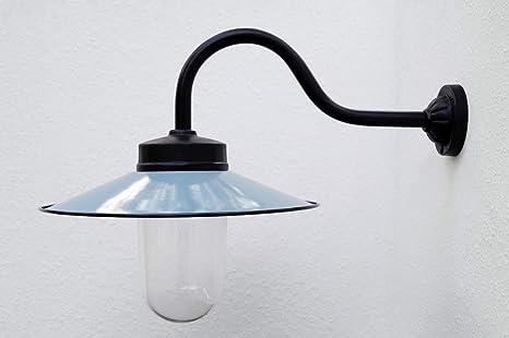 Lámpara de exterior según modelo histórico, lámpara de jardín, lámpara de patio, lámpara exterior, estilo rústico – Modelo Kaprun, antracita: Amazon.es: Iluminación
