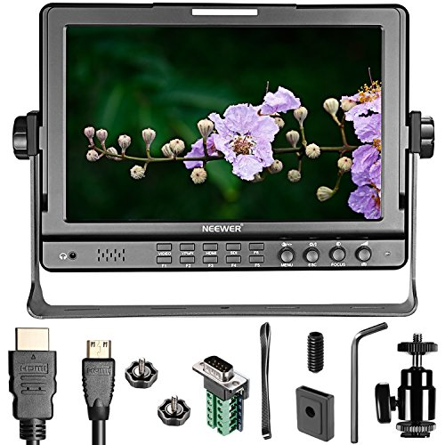 Neewer NW-1018 10.1 inches HD Monitor HDMI YPbPr COMPOSITE I