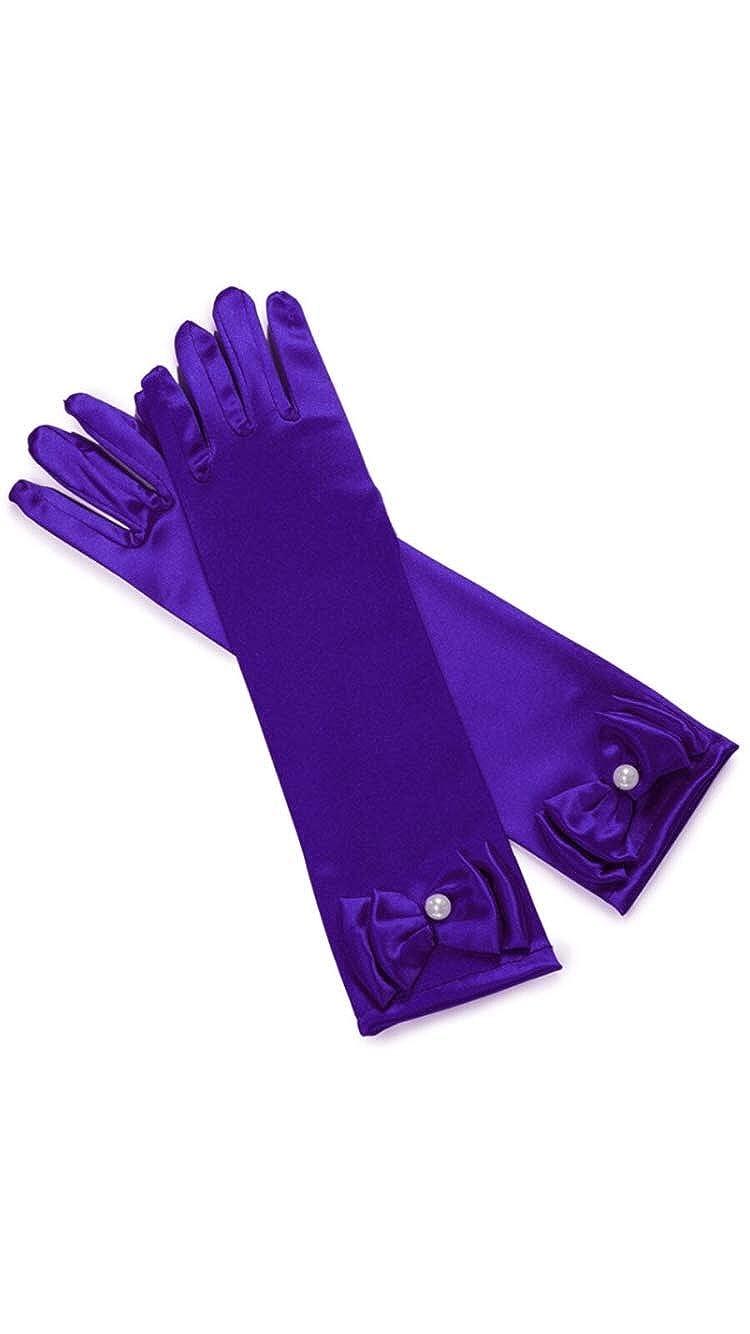 FashionModa4U Childrens Gloves with Bow