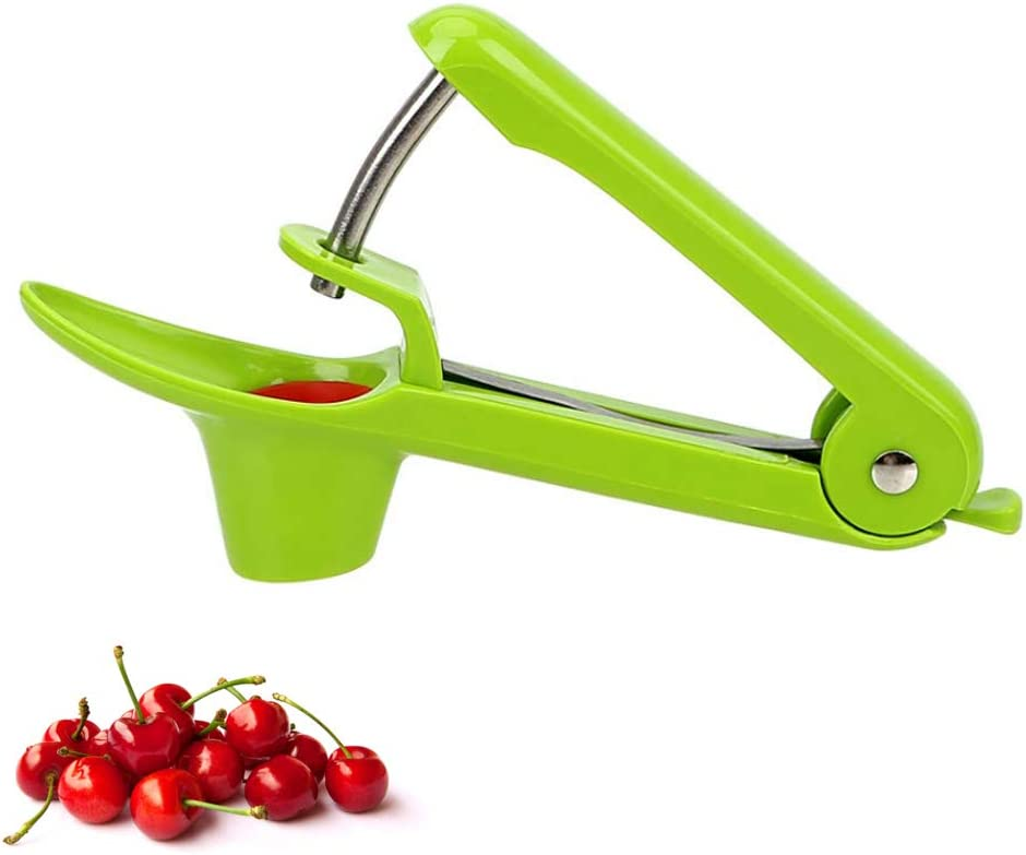 Black Cherry Stoner Seed and Olive Tool Remover Cherry Pitter Tool LaZimnInc Olive Pitter Tool