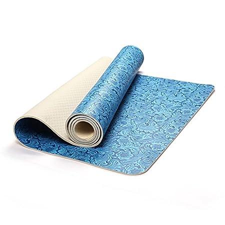 Wenzhihua Estera de Yoga Alfombra de Yoga Mat Pu5mm ...