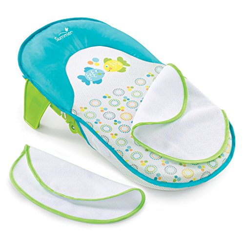 Dot Baby Bath - Summer Infant Bath Sling with Warming Wings