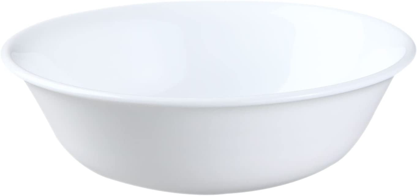 Corelle Livingware Soup//Cereal Bowl by Corelle Coordinates 18-Ounce Pack of 3 Winter Frost White