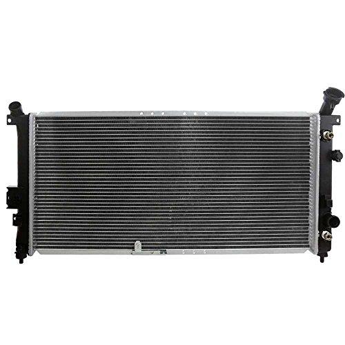 Prime Choice Auto Parts RK1002 Aluminum Radiator (2002 Chevy Venture Radiator)