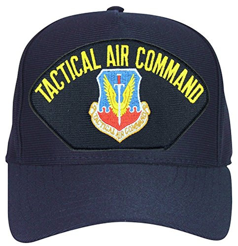 Air Force Tactical Air Command Baseball Cap. Navy Blue. Made in USA