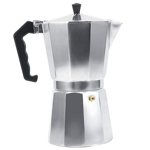 Ototon - Cafetera Italiana Moka de Aluminio de 1/3 Tazas, Maceta ...