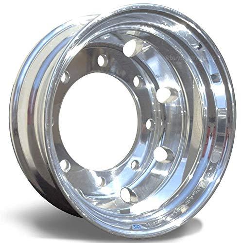 Alcoa 17.5'' x 6.75'' Dual 8 on 275mm Aluminum LvL One Trailer Wheel (663487) by Alcoa