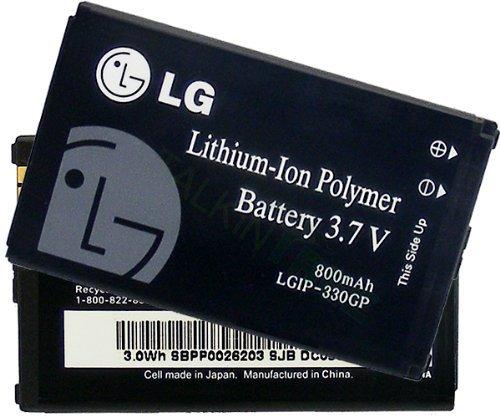 Standard Li IonBattery LG LGIP 330GP LGIP 330G
