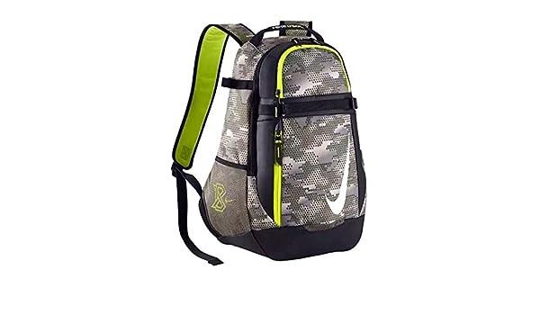 403f9823c8e2 Nike Men s Vapor Select Graphic Baseball Bat Bag Backpack Tumbled Grey Black