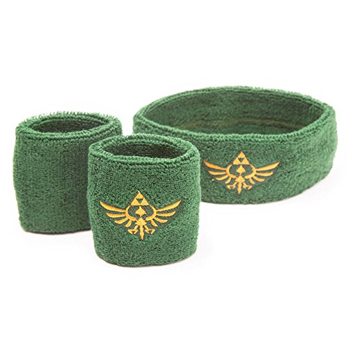 The Legend of Zelda Sweatband 3-Set Logo - Logo Sweatband Shopping Results
