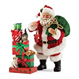 Department 56 Possible Dreams by Three Little Kittens Santa 9.5 In