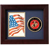 Allied Frame United States Marine Corps Vertical Picture Frame