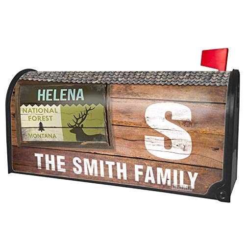 NEONBLOND Custom Mailbox Cover National US Forest Helena National Forest]()