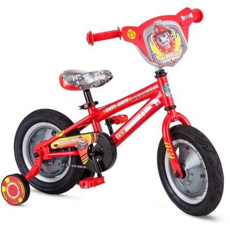 12インチ パウパトロール 男の子用自転車 | クッション付きグリップ | 2~4歳のお子様に最適 高さ38インチ   B01L0NF05A