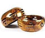 Product review for New Handmade Yarn Storage Functional Bowl With Innovative Yarn Dispensing Curl   Knitting & Crocheting Accessories   Nagina International (Medium)