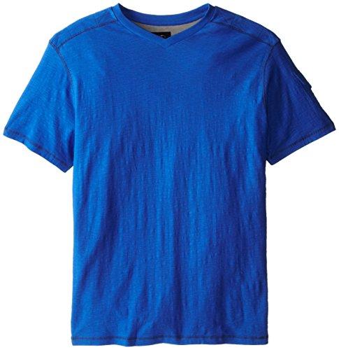 Modern Culture Men's Big-Tall Holt V-neck, Blue, 4X-Large