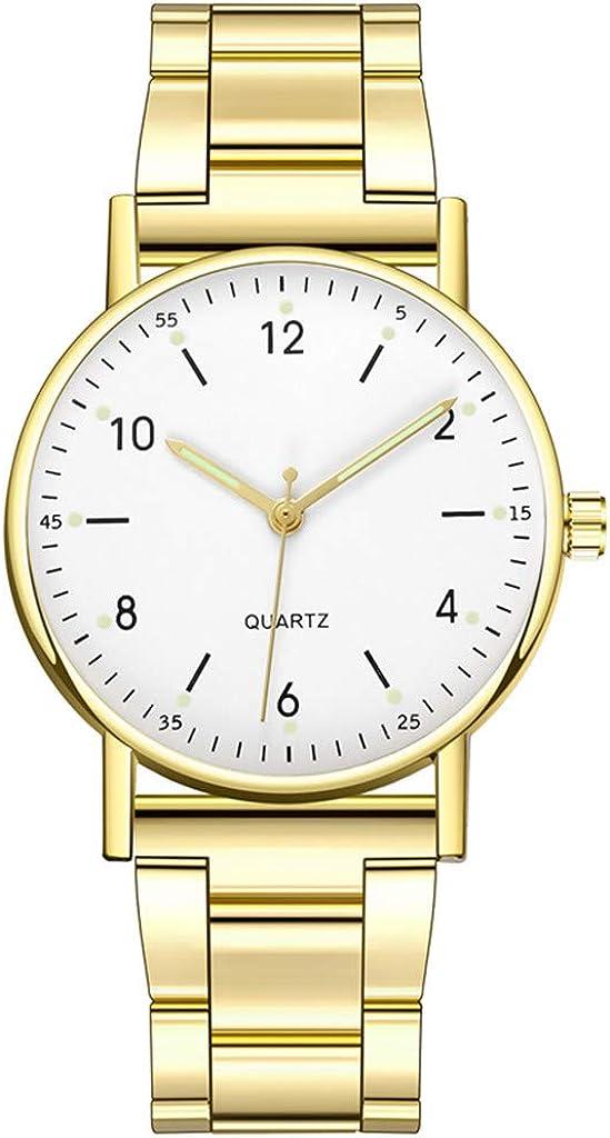 Mujeres Relojes de pulsera Señoras de gama alta reloj de cuarzo esfera luminosa reloj femenino regalos de Navidad San Valentín regalos