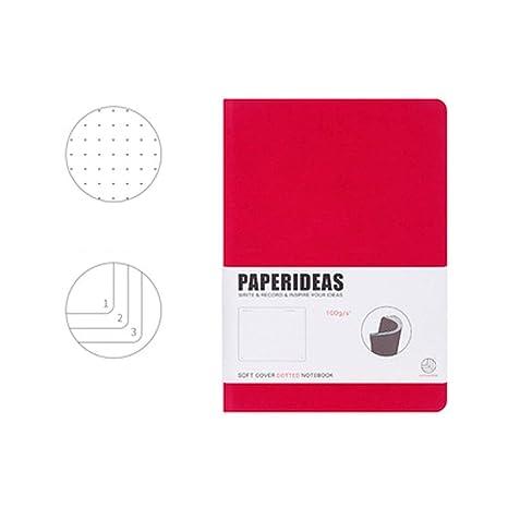 Amazon.com: BUSONG Agenda Libro Cuenta Libro Dot Matrix ...