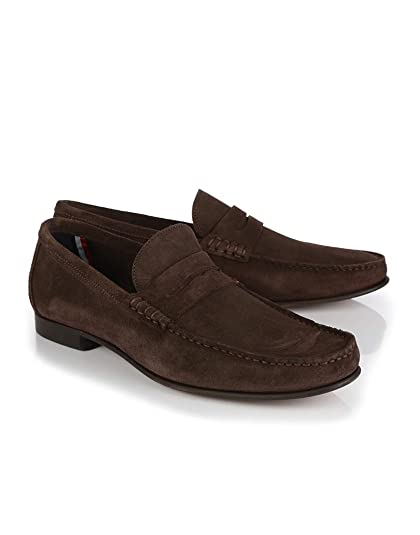 Tommy Hilfiger Core Suede Loafer Shoes 42 EU Coffee Bean