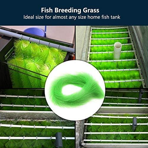 Césped decorativo para peces de acuario 7