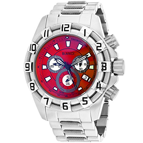 ROBERTO BIANCI WATCHES Men's 'Placenza' Swiss Quartz Stainless Steel Casual Watch, Color:Silver-Toned (Model: RB70640)