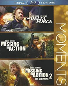 Chuck Norris Triple Feature: Missing in Action (1984)/ Missing in Action 2: The Beginning (1985) / The Delta Force (1986) [Blu-ray] - starring Chuck Norris, Martin Balsam, Lee Marvin, James Hong, George Kennedy (2012 - Blu-ay)