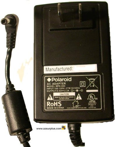 Polaroid Portable Dvd Player Battery (Polaroid Ac Adapter 95 V Pdm Part #)