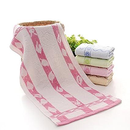 mmynl Pure toallas de algodón de pañuelos hogar cara Toallitas 73 x 33 cm