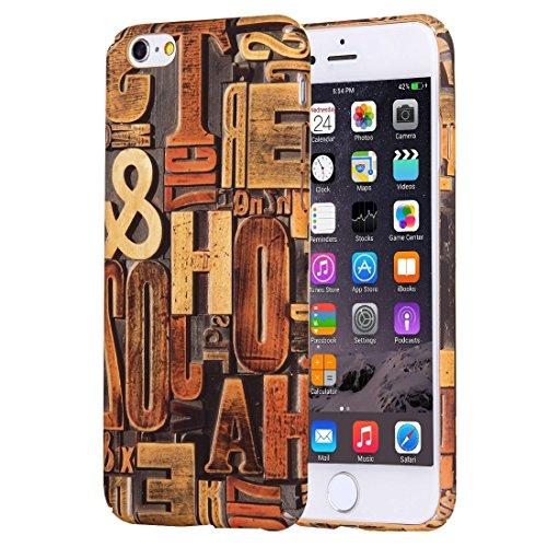 Phone Taschen & Schalen Für iPhone 6 Plus & 6s Plus Retro Style Pattern PC Schutzhülle ( SKU : IP6P1170E )