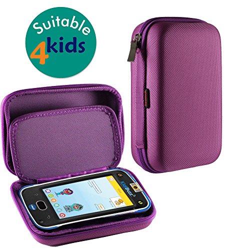 Navitech Purple Premium Travel Hard Carry Case Cover Sleeve for The Vtech Kidibuzz