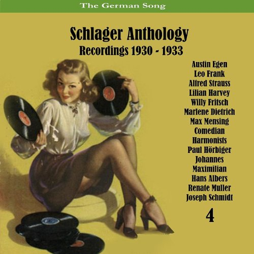 The German Song / Schlager Ant...