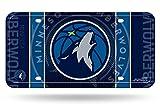Rico NBA Minnesota Timberwolves Metal License Plate Tag