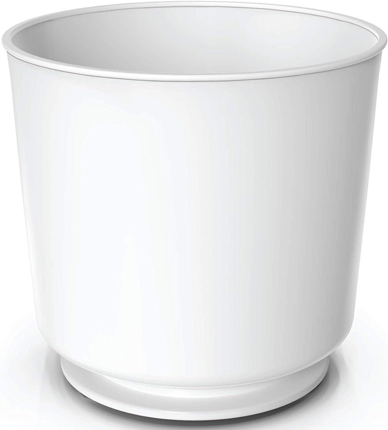 A prova di ruggine e lavabile in lavastoviglie Portautensili rotante divisorio removibile e inserto aderente con base pesata anti-rovesciamento da Cooler Kitchen extra large e robusto
