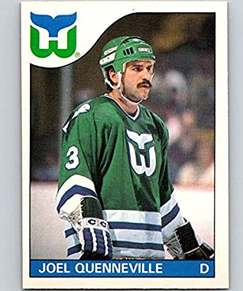 0cdffe01f Amazon.com  1985-86 O-Pee-Chee  103 Joel Quenneville Whalers NHL ...
