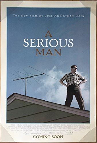 (A SERIOUS MAN MOVIE POSTER 2 Sided ORIGINAL 27x40 ETHAN COHEN JOEL COHEN)