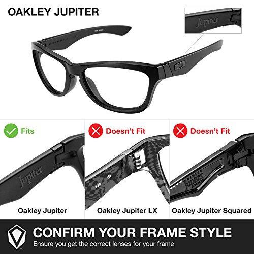Oakley rechange de pour Jupiter Verres xwt58wpq