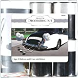 Traditional Deluxe Wedding Car Decorating Party Kit, Pack of 15