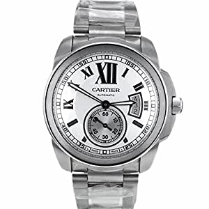 Cartier Calibre swiss-automatic mens Watch W7100015 (Certified Pre-owned)