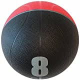Spin Fitness Commercial-Grade Medicine Ball, 8 lbs