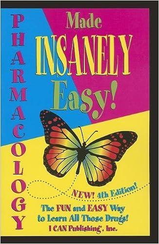 Pharmacology Made Insanely Easy 9780984204076 Medicine Health