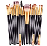 Best Eyeliners - AOOK 15 Pieces Animal Makeup Brush Set Professional Review