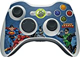 DC Comics Justice League Xbox 360 Wireless Controller Skin - Justice League Heroes Vinyl Decal Skin For Your Xbox 360 Wireless Controller
