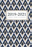 2019-2021 Three Year Planner: 36-Month Calendar