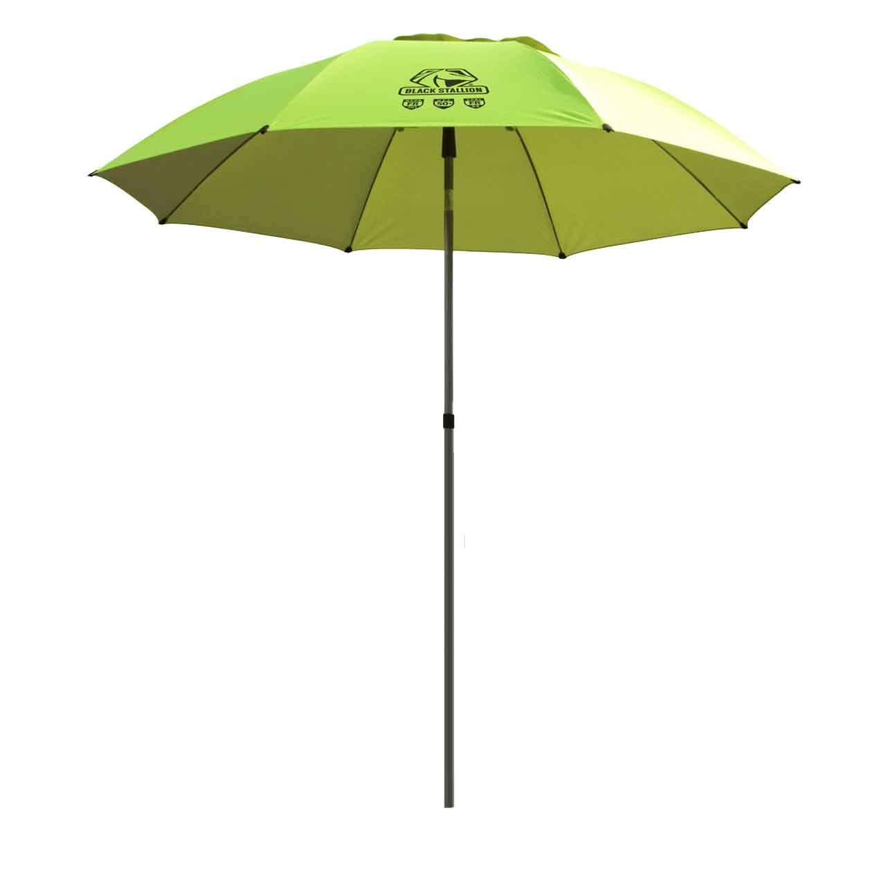 Black Stallion UB200 Core Flame-Resistant Industrial Umbrella, Hi-Vis Yellow/Lime by Black Stallion