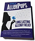 AllerPops (Patented) for LONG-LASTING (a Season or Longer) Allergy Relief, 12 Natural Sweet Prebiotic Lollipops Promote Oral Good Bacteria and Make the Immune System NOT Sensitive to Allergens.