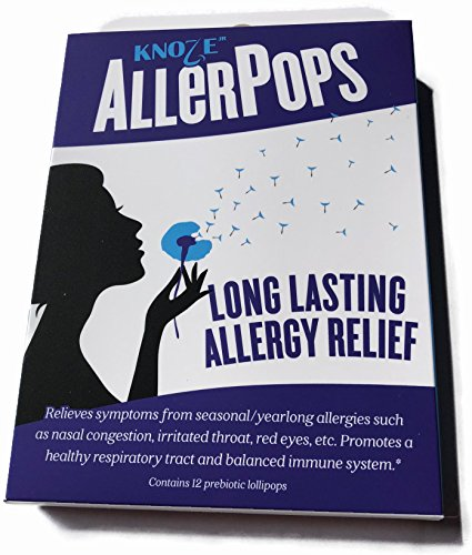 Allerpops  Prebiotic Lollipops For Yearlong Allergy Relief
