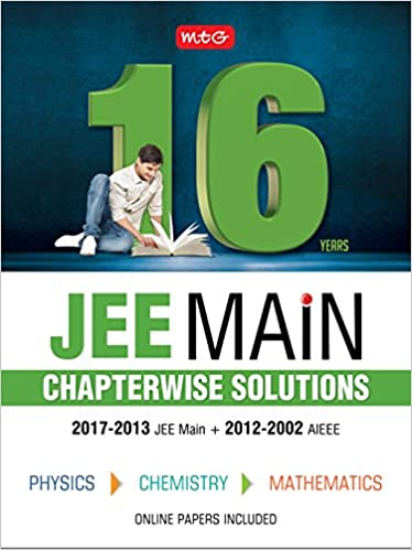 16 Years JEE Main Chapterwise Solutions - Physics, Chemistry