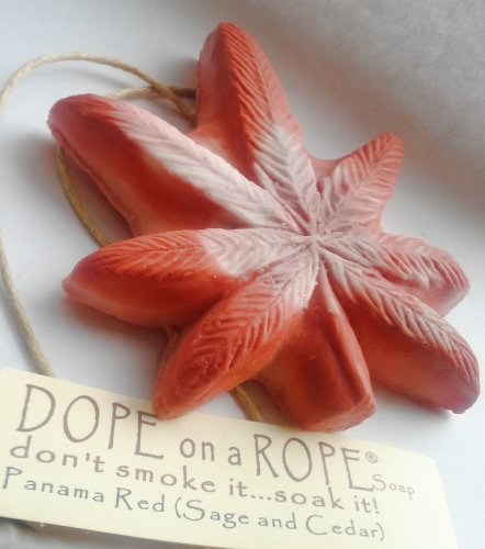 Dope on a Rope Soap - Panama Red | Sage & Cedar