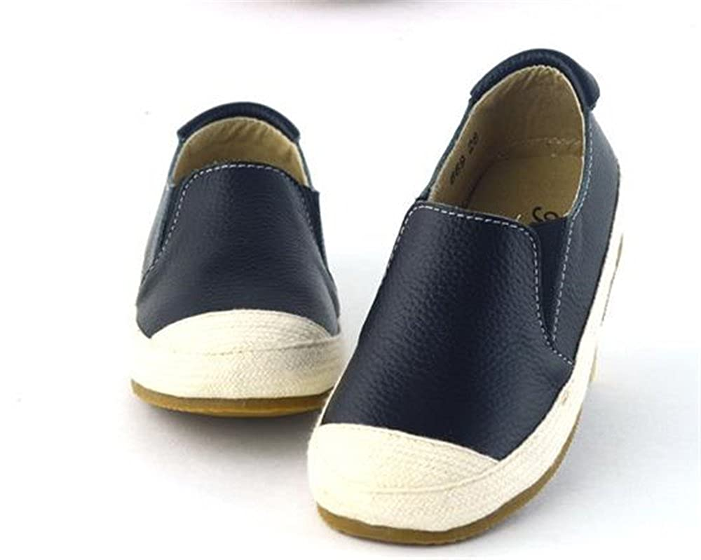 SUNNY Store Toddler Little Kid Girls Boys Suede Slip-on Loafers Casual Comfort Flat Shoes